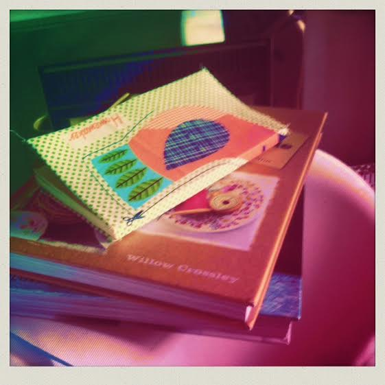 fabric note book